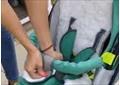 бампер для санок-колясок Ника морская волна