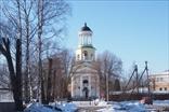 Поселок Мурино на границе Санкт-Петербурга и Ленинградской области