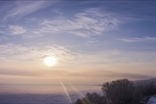 зимний вид из окна