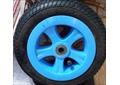 Колесо надувное для санок-колясок Ника цвет синий